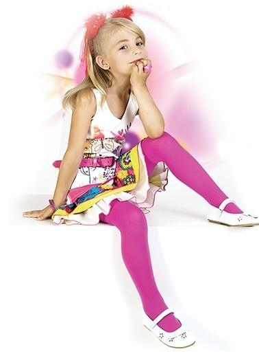 Pierre Cardin Çocuk Külotlu Çorap Fuşya